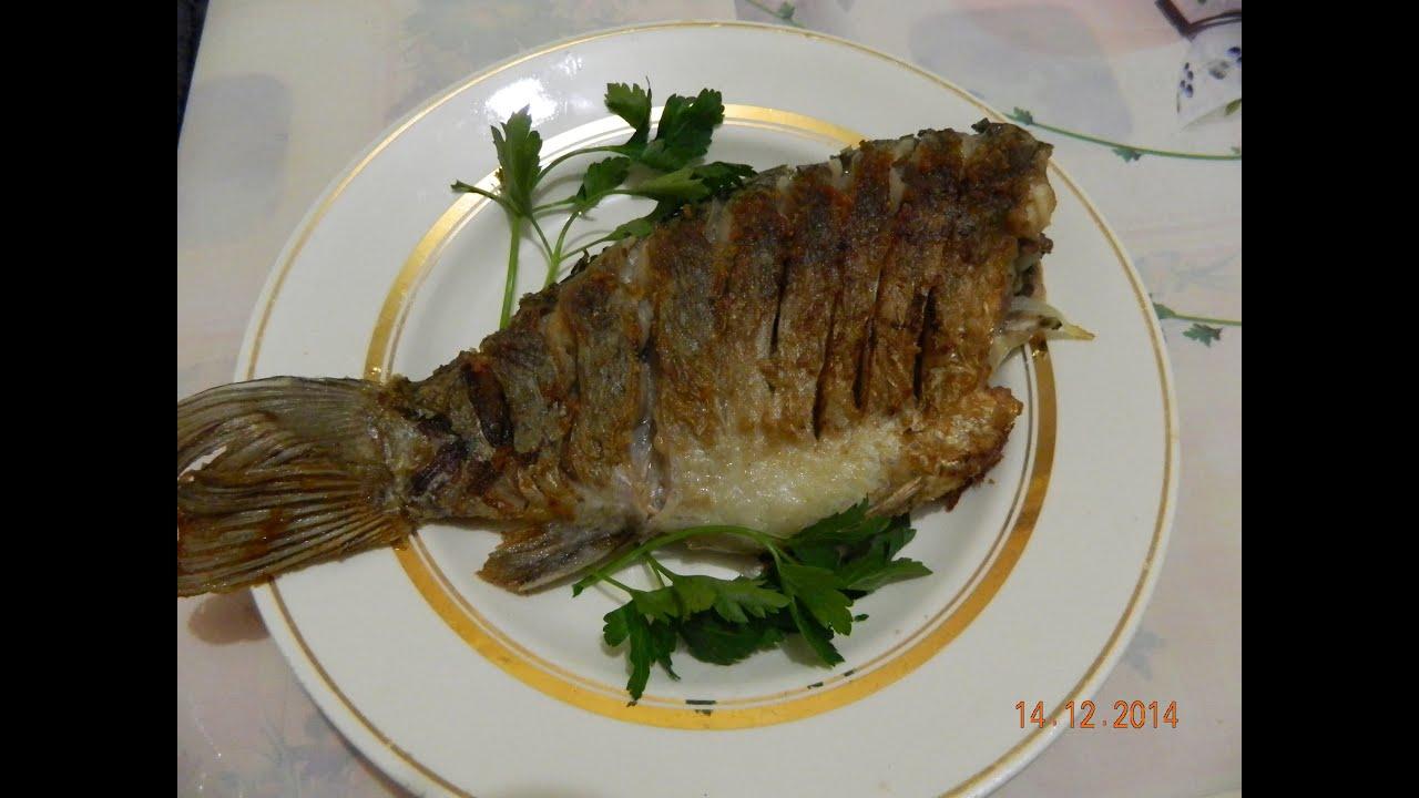 Рыба жареная в яйце
