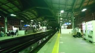 ゆふいんの森94号 行橋駅通過シーン