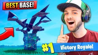 The BEST BASE in Fortnite: Battle Royale! (INDESTRUCTIBLE)