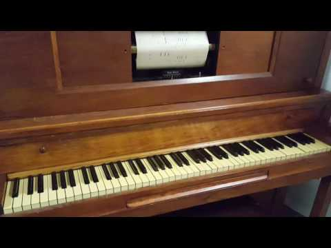 Player Piano Selling At Oldham Auctions