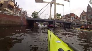 Kayaking in Alkmaar, The Netherlands