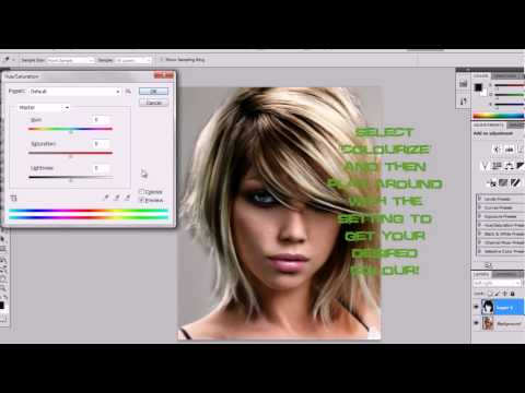 how to make people stand out more photoshop cs5