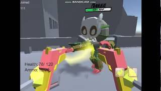"Unity Photon FPS Multiplayer Test Game ""RoboBlitz"", part 3"