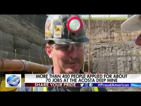 Pennsylvania coal mine, first in Trump era, praised as lifeline for local economy