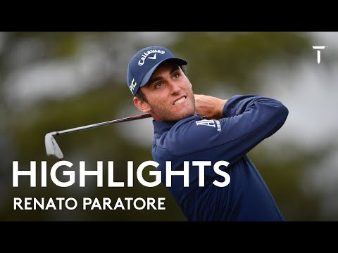 Renato Paratore finds ball in spectator bag | Round 3 Highlights | 2021 Omega European Masters
