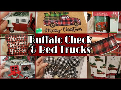 Buffalo Check & Red Truck Roundup • 6 stores