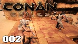 CONAN EXILES [002] [Hausfrau und Ausbau] [Multiplayer] [Deutsch German] thumbnail