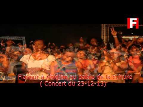 Flavour à Abidjan au palais de la culture ( Concert du 23-12-13)