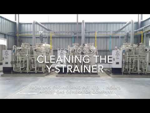 Y-Strainer cleaning procedure