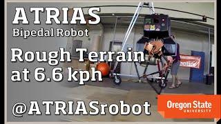 ATRIAS Robot: Traverses Rough Terrain at 6.6 kph (4.1 mph) thumbnail