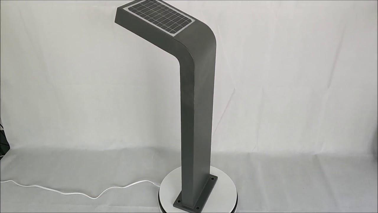 German Outdoor Solar Gartenleuchte Hersteller Led