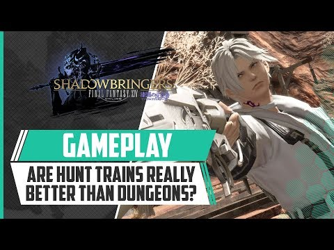 Are Hunt Trains Better Than Dungeons For Farming Materia & Tomestones | Final Fantasy XIV