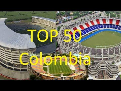 """¡¡""""Top 50 Estadios De Fútbol De Colombia De Mayor Capacidad Y Más Grandes De 2017/2016""""!!! Top 10!!"""