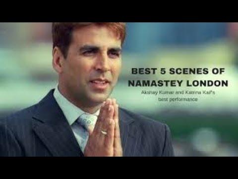 Best 5 Scenes Of Namastey London  FULL HD Goyal Music Series 