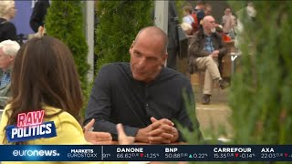#RawPolitics | Euronews interviews former Greek finance minister Yanis Varoufakis
