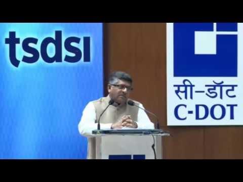 Speech of Shri Ravi Shankar Prasad - Minister of Communications and Information Technology @ TSDSI