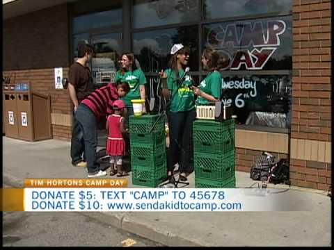 Tim Hortons Camp Day 3 - YouTube