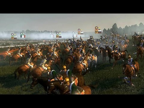 "(very hard) ""Battle of Friedland"" - Napoleon Total War historical"