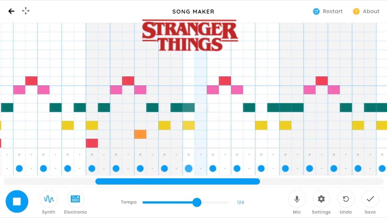 lab chrome music stranger things