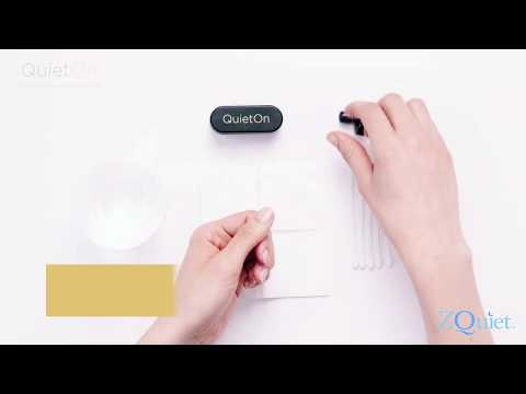 QuietOn Snore Cancelling earbuds - Cleaning Tips
