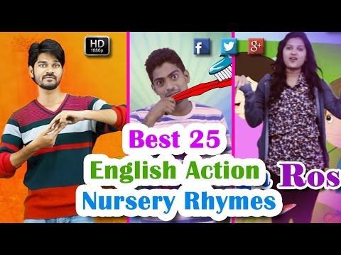 Best 25 English Action Nursery Rhymes For...