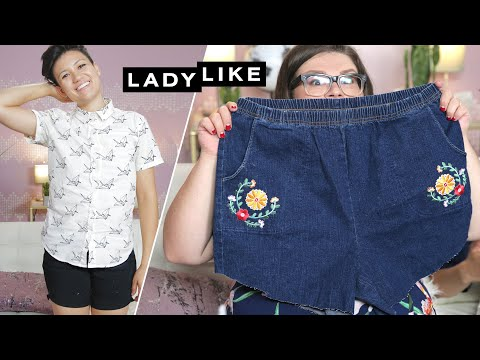 We Made Our Own Summer Shorts • Ladylike