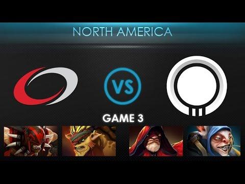 compLexity vs Team Onyx Game 3 - Kiev Major NA Qualifier: Playoffs - @DakotaCox @LacosteDota