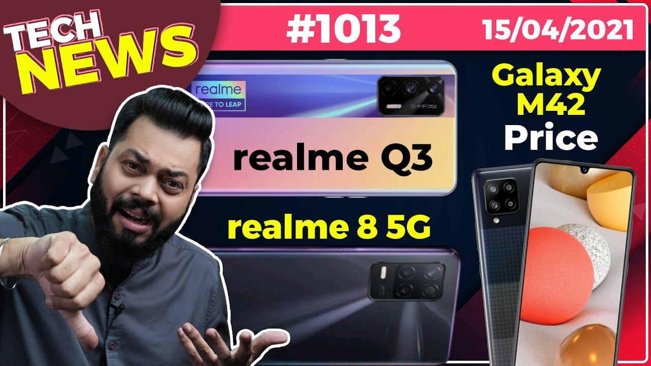 realme Q3 Coming, Galaxy M42 Price, realme 8 5G Specs, TCL Fold 'n Roll, iQOO Neo5 = iQOO 7-#TT