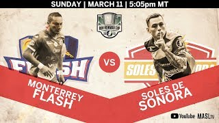 Monterrey Flash vs Soles de Sonora