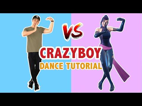 CRAZYBOY (DANCE TUTORIAL)