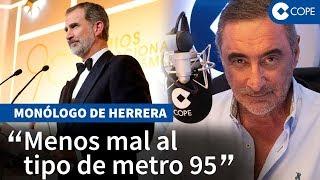 """Herrera, sobre Sánchez que """"quiere sustituir al Rey"""""""