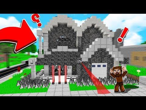 FAKİR'İN EVİ %100 GÜVENLİ SIĞINAĞA DÖNÜŞTÜ! 😱 - Minecraft