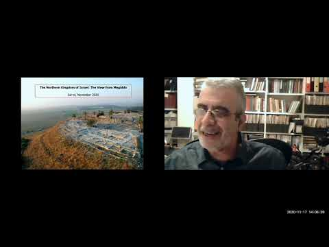 45 The Northern Kingdom Of Israel: The View From Megiddo By Arch. Prof. Israel Finkelstein 11/17
