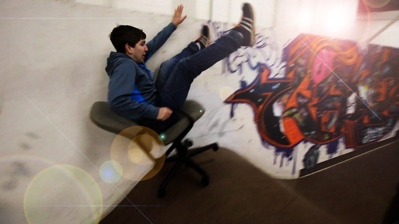 Office Chair Skatepark Short N Stupid 1