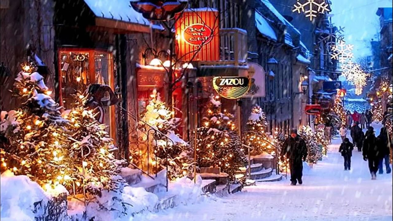 christmas in quebec canada hd1080p youtube