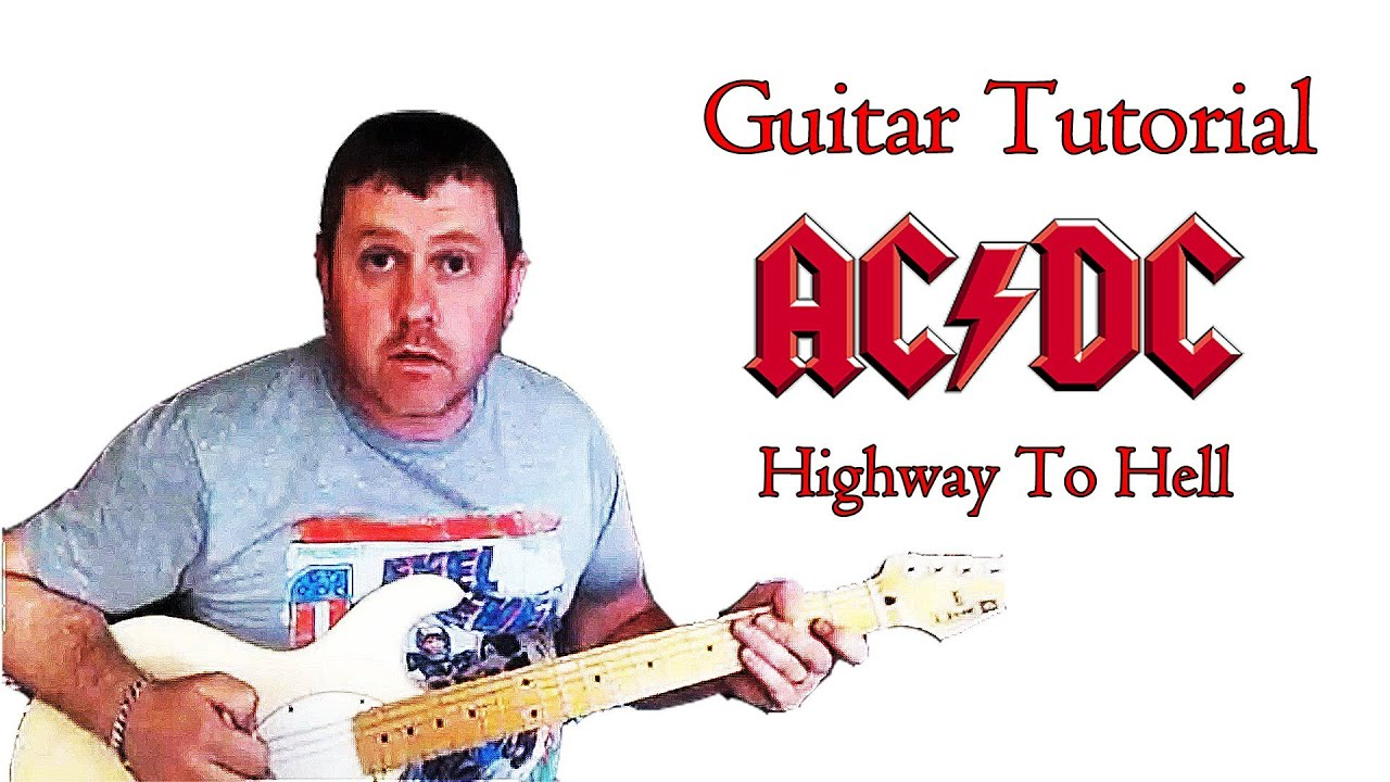 Highway To Hell - AC/DC guitar lesson - YouTube