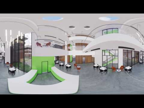 University of Liverpool Management School Extension 360 VR animation
