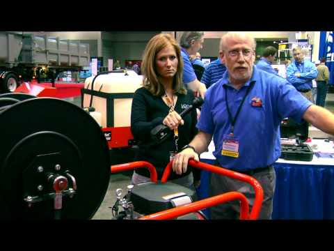 General Pipe Cleaners - J-3080 Portable Jetter - Pumper & Cleaner Expo 2011