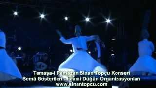 Bursa Temaşa i Ramazan Etkinlikleri Merinos Sinan Topçu Konseri Bursa Semazen Grubu