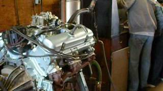 Pontiac GTO 400 Engine 1967 Dyno Session Motor Test