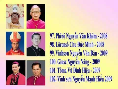 CHÂN DUNG Giám Mục Việt Nam