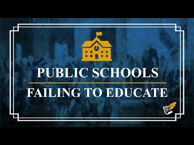 Government is Failing to Educate Our Children