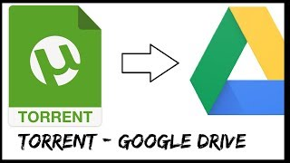 How to Save torrents to Google drive Method -1 [ Check description for new method ]