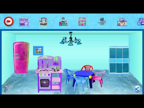 Ice Doll House Decoration Interior Home