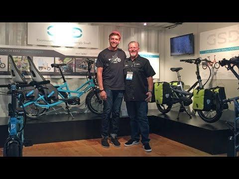 2018 Tern Electric Bike Updates from Interbike (GSD, Vektron P9, Rapid Transit Rack)