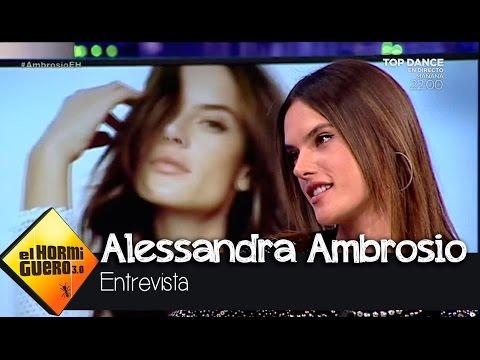 Alessandra Ambrosio confiesa cuál es la parte del cuerpo de los hombres que más le gusta