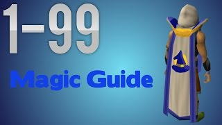 RS3, F2P, 1-99 Magic Guide Fastest/Profit (Detailed) (RuneScape)