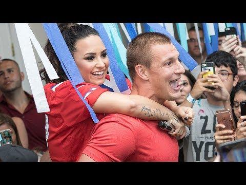 Gronk SMASHING Demi Lovato!?