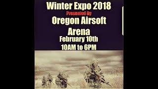 Oregon Airsoft Arena Winter Expo