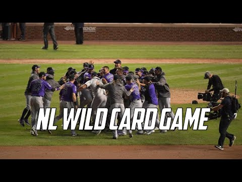 Mlb 2018 Nl Wild Card Game Highlights Col Vs Chc